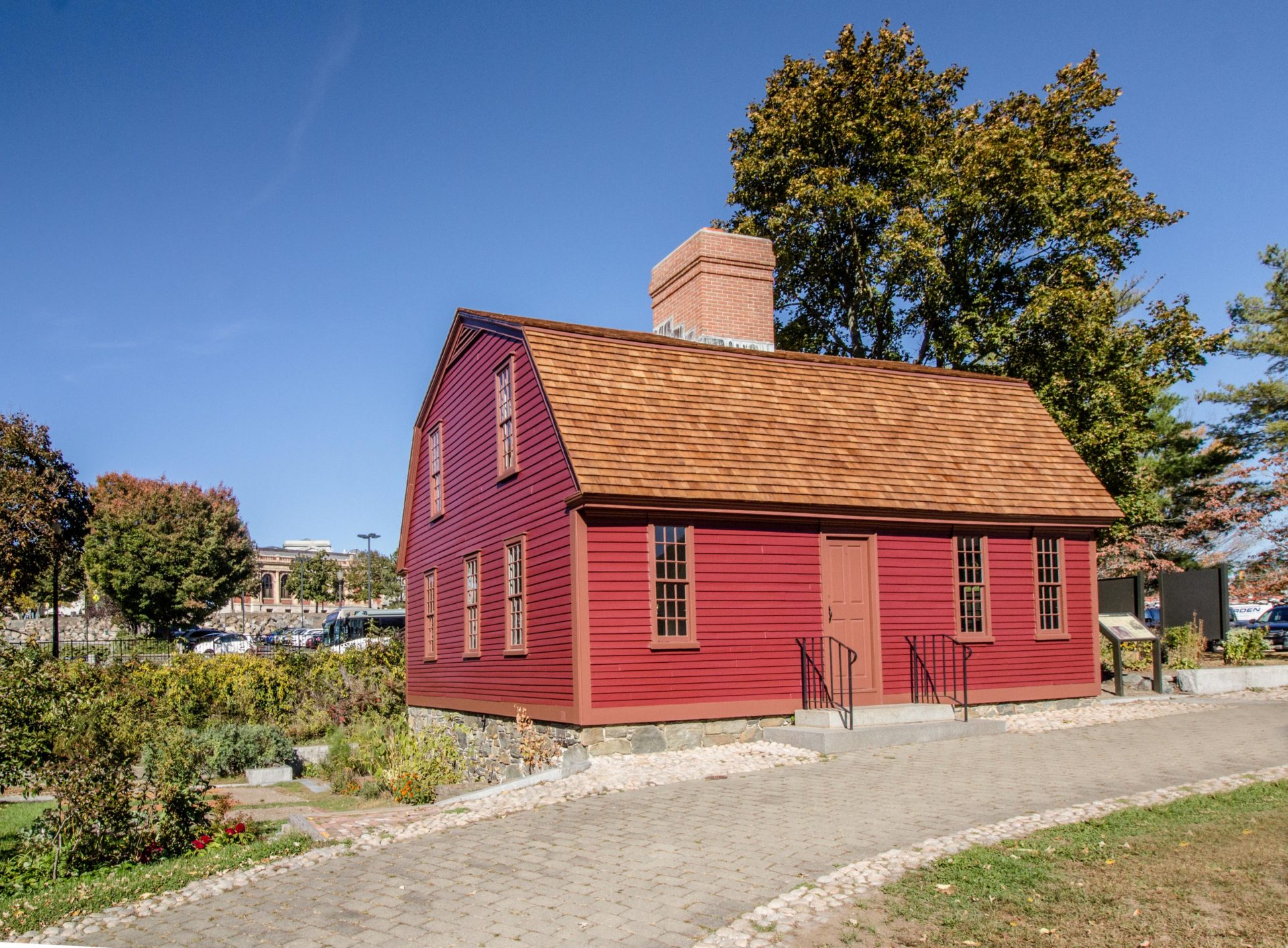 Sylvanus Brown House At Slater Mill Martone Inc