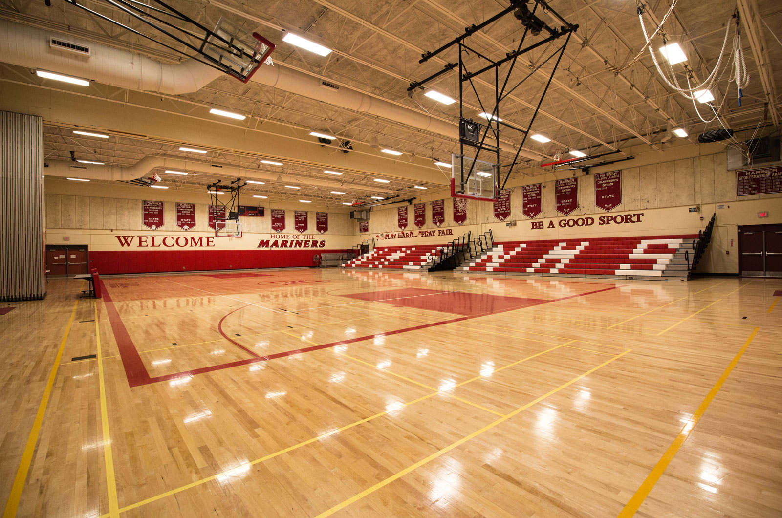 Narragansett High School Gymnasium Martone Inc